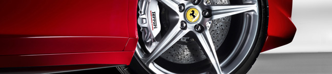 Bridgestone S001 on a Ferrari 458