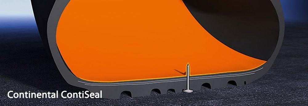 Seal flat tyre