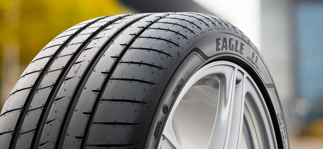 The new Goodyear UHP Tyre